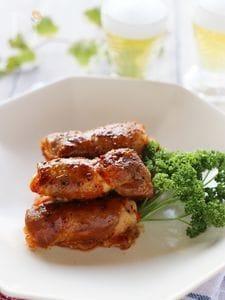 白菜キムチの豚肉巻き