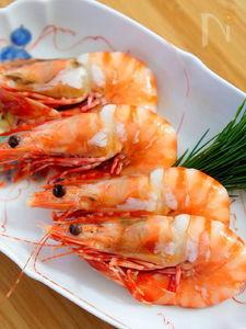 おせち料理の海老の煮物