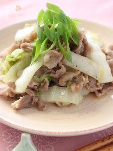 豚肉と白菜のサッパリ炒め