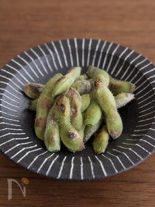 ほっこり甘い焼き枝豆