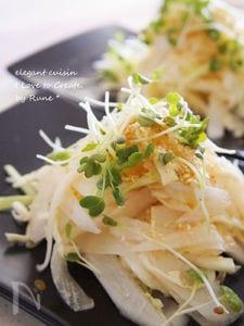 大根と春キャベツ♪和の味わい胡麻サラダ