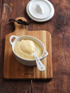 レンジで作る、カスタードクリーム。