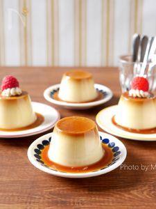 【卵なし/★豆乳バージョン】カラメルプリン