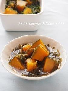 美容・健康に!【常備菜】かぼちゃと切り昆布のさっぱり煮
