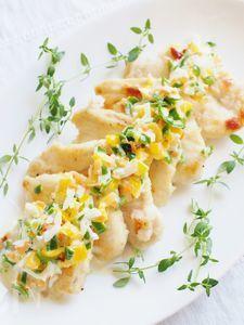 鶏胸肉のソテー&カラフル野菜のタルタルソース