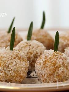 野菜とスパイスのココナッツボール★スーパー&アンチエイジング