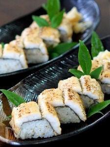 鱧の押し寿司