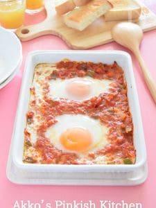 シャクシュカ イスラエルの卵料理