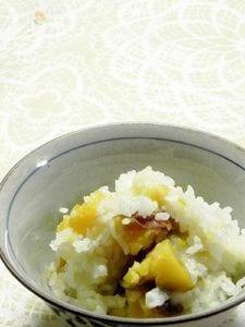 安納芋のおこわ風ご飯