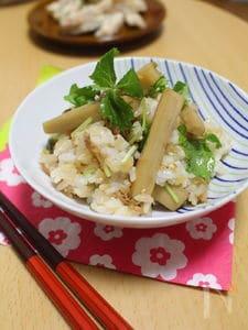 【お弁当にも!】ツナとれんこんの味わい混ぜ込みご飯。