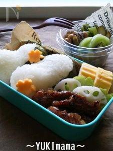 お弁当に~濃厚がっつり豚の生姜焼き~