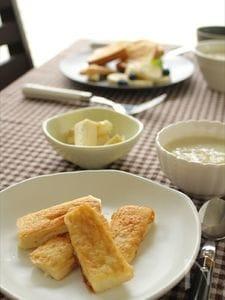 きなこと豆乳のフレンチトースト