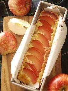 リンゴのコンポートケーキ