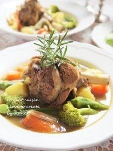 スパイスが決め手☆クローブのラムシャンク(モロッコ料理)