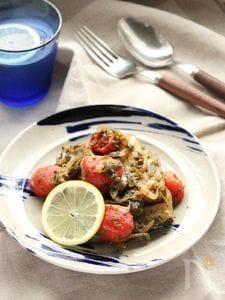 夏野菜のペルシアン風 蒸し煮