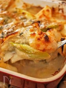 ホワイトソースなし!牡蠣と蕪のゴルゴンゾーラで大人グラタン
