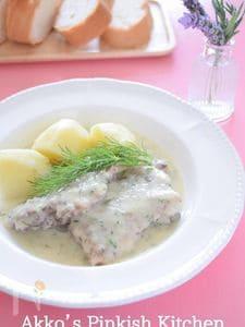 鶏肉のディルクリーム煮込み~北欧風~オールスパイス使用レシピ