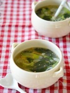 本格的♪わかめのとろみスープ