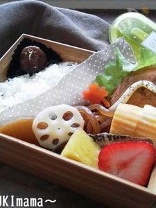 〜醤油麹漬けサーモンのからしクリームソース〜