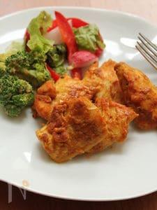 簡単!ヘルシー!鶏胸肉のタンドリーチキン