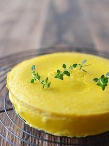 簡単♪かぼちゃのクリームチーズケーキ
