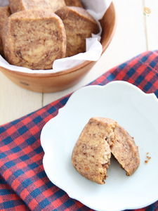 ココアのマーブルアイスボックスクッキー