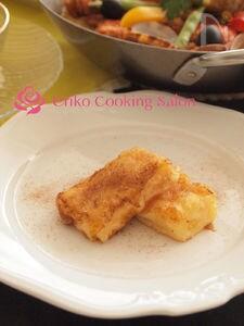 【レンジでカスタードクリーム】揚げカスタードのシナモン風味