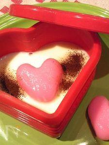 バレンンタインに◆ほわいと☆らぶ◆ホワイトチョコの洋風汁粉