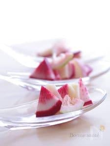 薬膳☆赤カブと林檎とレモンのサラダ