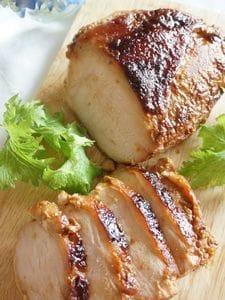 醤油麹で、しっとり鶏むね肉