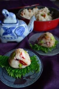 たこ・枝豆・ドライトマト! 簡単夏ごはん