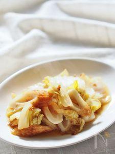 白菜とちくわのサッと煮