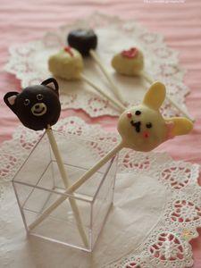 スイートポテトケーキポップ