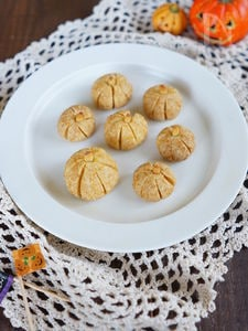 ハロウィンに!かぼちゃのころころクッキー
