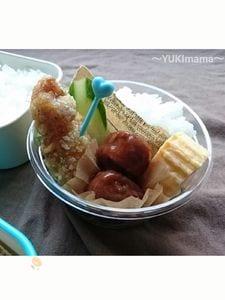 〜鶏ささ身のマヨワインアップル〜から揚げのお弁当