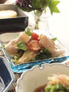 ピリッとクレソンと豚しゃぶのサラダ