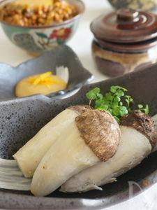 手づかみで食べれる、お手軽レンジ里芋