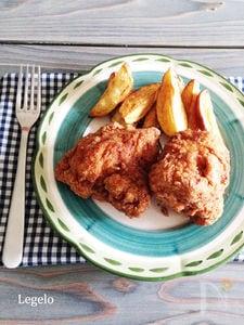 びっくりするほどジューシー♪鶏むね肉フライドチキン