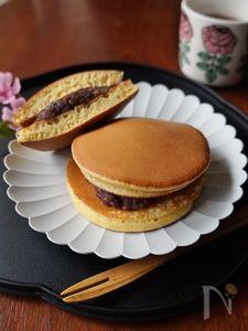 ホットケーキミックスで作る基本のどら焼き