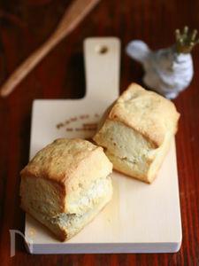 イースト発酵のパンスコーン