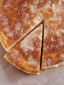 パルミジャーノ・レッジャーノ香る♪濃厚チーズケーキ。