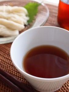 昆布茶で簡単!手づくり素麺つゆ