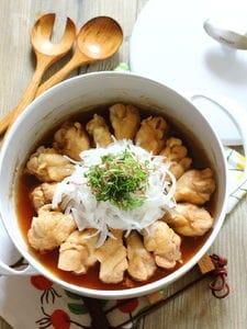 鶏手羽のポン酢煮