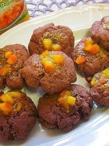 マテルネオレンジココアクッキー♪