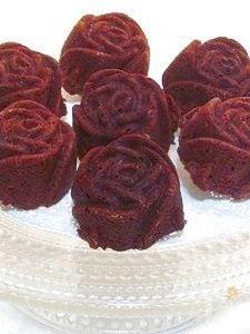 薔薇のショコラケーキ♪