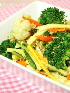 冷蔵庫一掃にオススメ♪彩り野菜のナムル