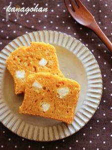 【184kcal】クリームチーズ入りキャロットケーキ