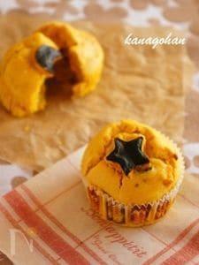 【196kcal】かぼちゃのしっとりマフィン