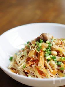 和食材のチャプチェ