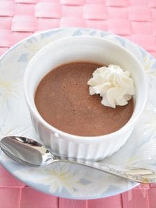 マシュマロチョコレートムース